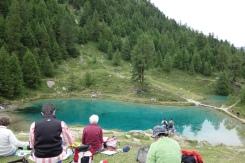 Au Lac Bleu...